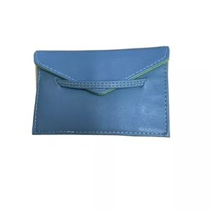 Leather Bloomingdales business card holder
